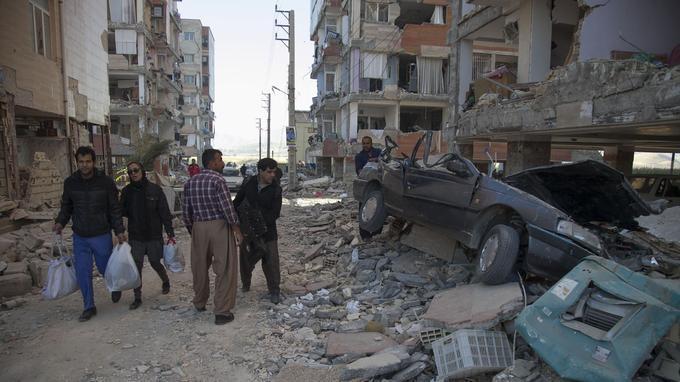 C'est en Iran que le séisme a été le plus meurtrier, et notamment dans la province du Kermanshah.