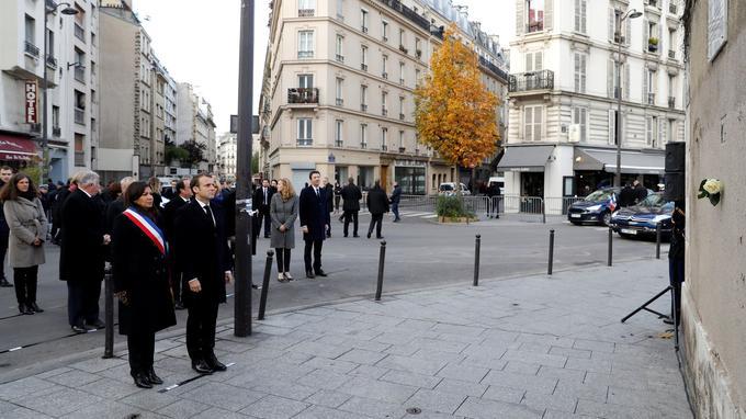 Anne Hidalgo et Emmanuel Macron.