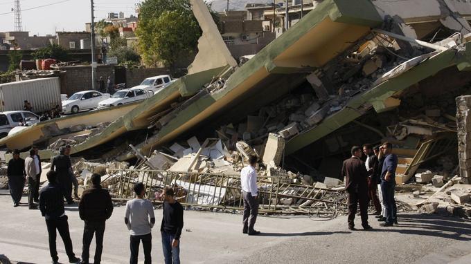 Les maisons les plus anciennes ont été complètement détruites.