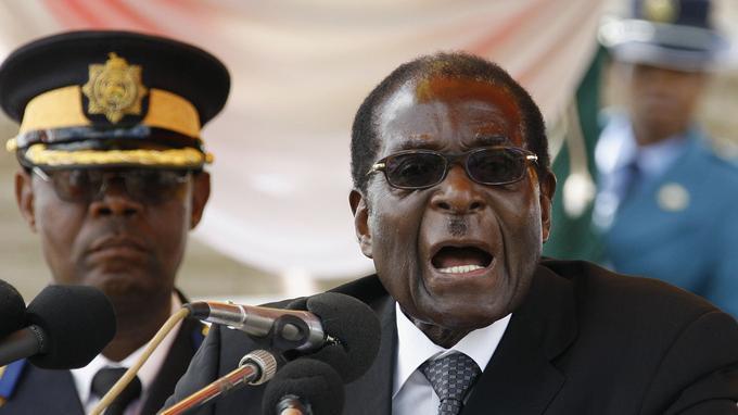 Le président Robert Mugabe en 2010.
