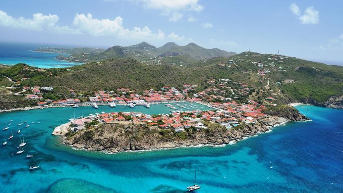 Saint Barth est une destinations les plus en vue des Caraïbes.
