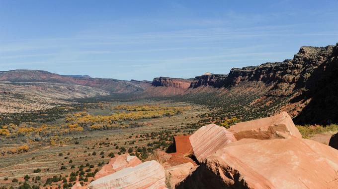 Trump réduit la surface de deux régions protégées de l'Utah — Etats-Unis