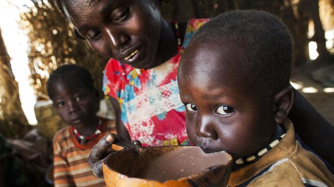 Réfugiés dans le Sud Soudan - Crédit Photo: Albert Gonzalez Farran / Albert Gonzalez Farran / AFP