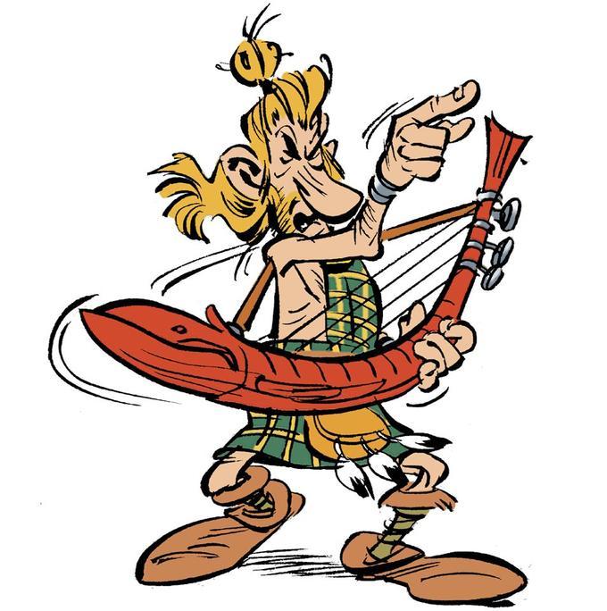 «Quoi Mac Keul? Qu'est-ce qu'il a Mac Keul?» chante le barde écossais, dont on devine bien sûr qu'il s'agit de Johnny...