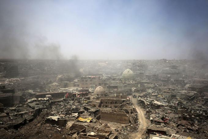 Mossoul, le 9 juin 2017, quelques jours avant que les forces de la coalition ne libèrent la ville.