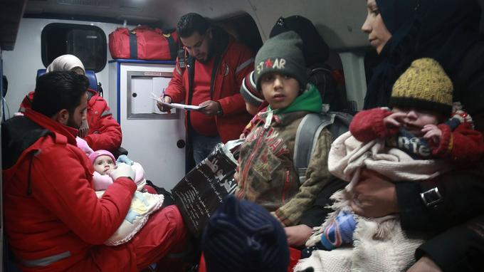 L'ONU espère l'évacuation de 500 civils de la Ghouta.