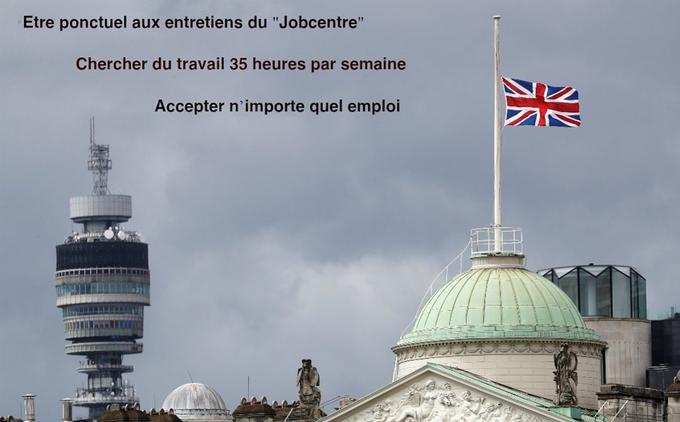 Au Royaume-Uni, l'allocation-chômage est limitée à 6 mois maximum.