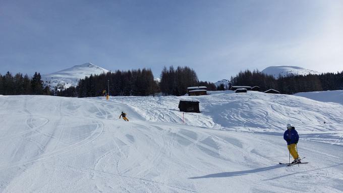 Domaine skiable du Rinerhorn.