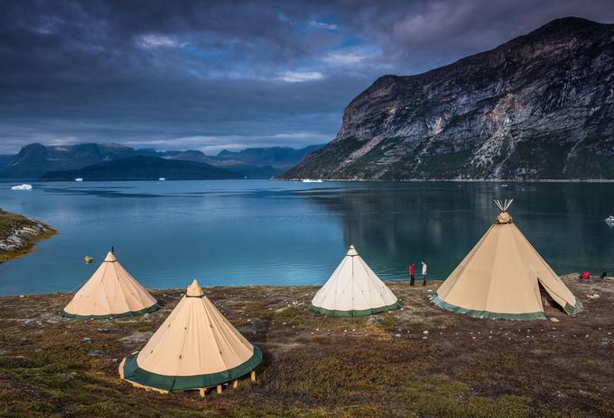 C'est au fond du fjord Amitsuarssuk que se niche le camp de luxe saisonnier Kiattua.