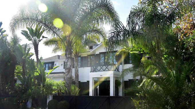 La propriété de Johnny Hallyday dans Pacific Palissades à Los Angeles estimée entre dix et quinze millions d'euros.