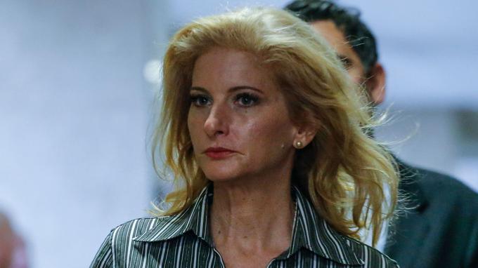 Summer Zervos, ancienne candidate de l'émission de téléréalité «The Apprentice», accuse Donald Trump d'agression sexuelle. La photo a été prise en décembre 2017.