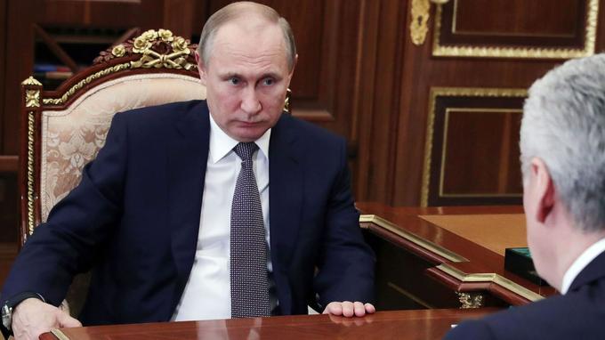 Après les frappes en Syrie, le président russe a condamné «une violation du droit international».