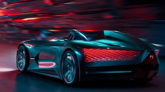 Le peau de la carrosserie qui se régénère après un choc est elle-même une surface d'éclairage.