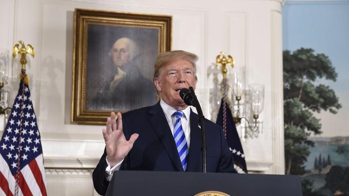 Donald Trump estime que le contrat est désastreux pour les États-Unis