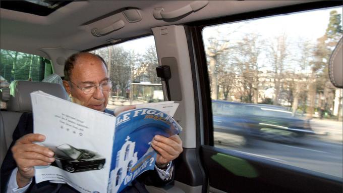 Serge Dassault était un grand lecteur du <i>Figaro Magazine</i>.