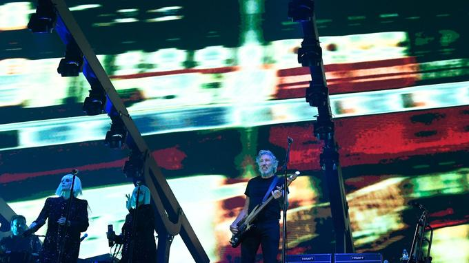 Roger Waters en concert à la U Arena.