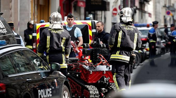 Un robot démineur a été déployé sur les lieux de la prise d'otages.