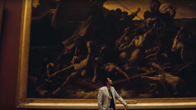 Jay-Z admire «Le Radeau de la Méduse».