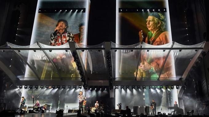 Les Stones enflamment le stade Vélofriome le mercredi 26 juin.
