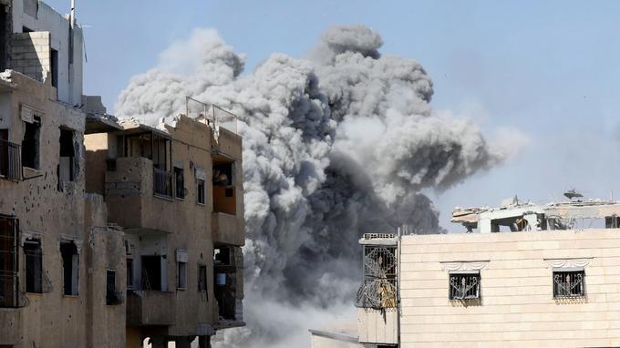 Assaut final pour libérer Raqqa