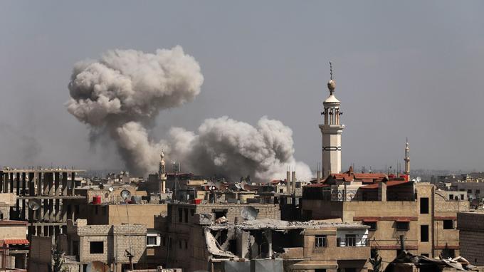 Guerre en Syrie : sept ans déjà et plus de 350 000 morts