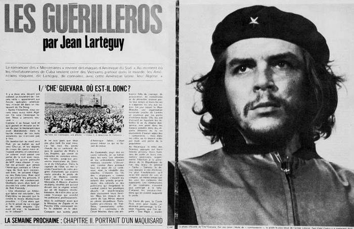 La photo est publiée dans <i>Paris Match</i> en août 1967.