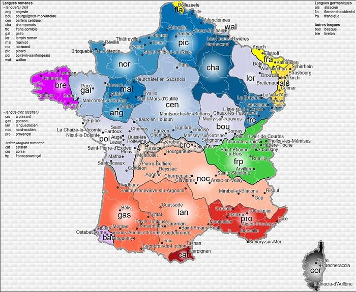 Atlas sonore des langues régionales. Crédits Photo: Capture d'écran du site du LIMSI