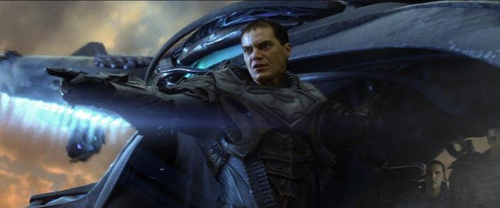 Michael Shannon dans Man of Steel.
