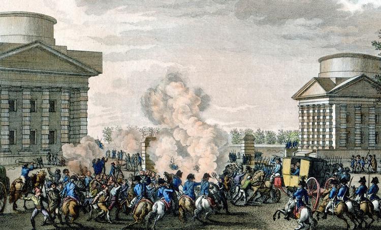 Le soulèvement populaire des sans-culottes du 1er avril 1795.