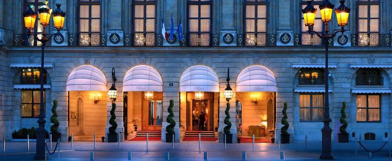 Le Ritz, au 15 place Vendôme.
