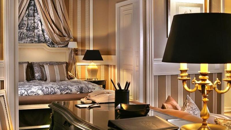 H tel de luxe 5 etoiles france for Hotel luxe france
