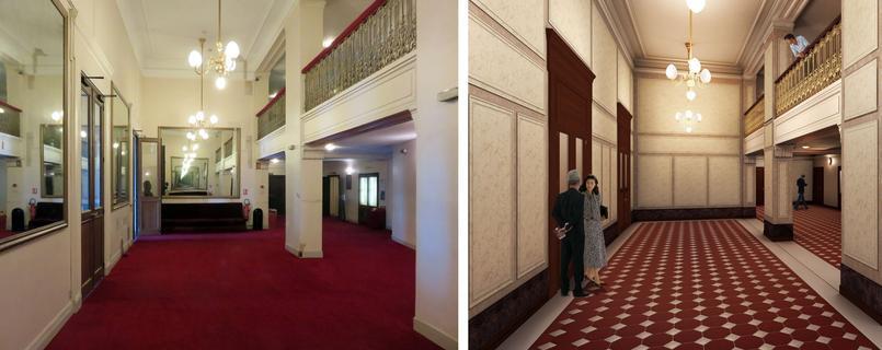 Grand Foyer Theatre Du Chatelet : Découvrez à quoi ressemblera le thé tre du ch telet demain