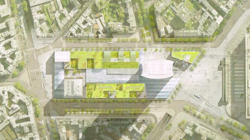 Les premi res images du projet de r novation de la tour for Plan interieur gare montparnasse