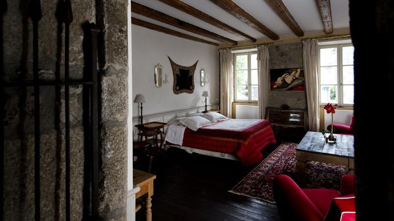 Une des chambres de Chez Remise.
