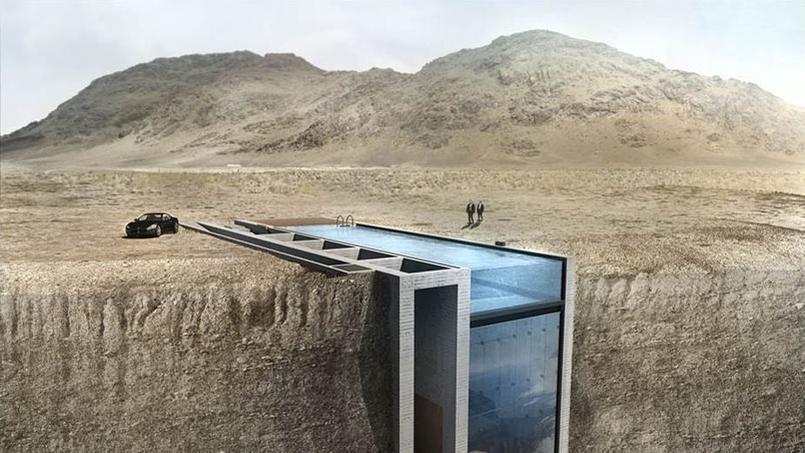 la casa brutale une incroyable maison dans la falaise. Black Bedroom Furniture Sets. Home Design Ideas