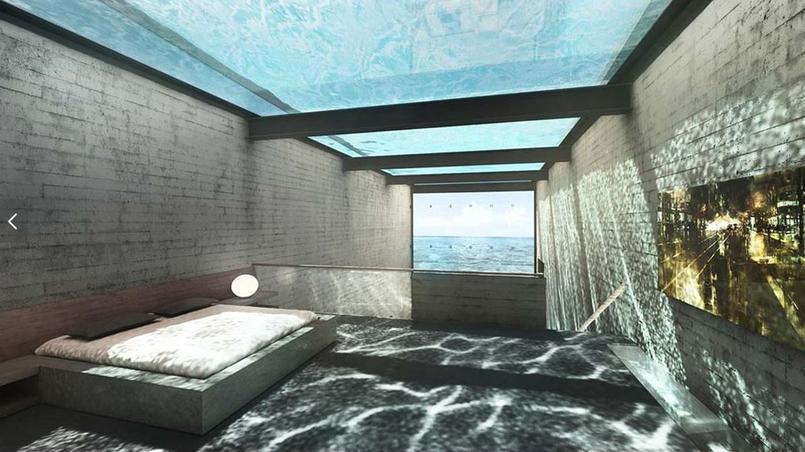 La casa brutale une incroyable maison dans la falaise for Piscine falaise
