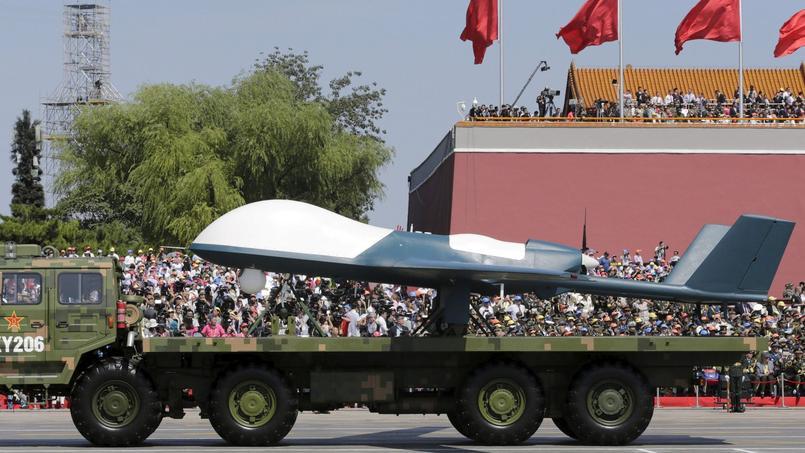 Des drones et divers types de missiles ont été présentés, beaucoup pour la première fois.