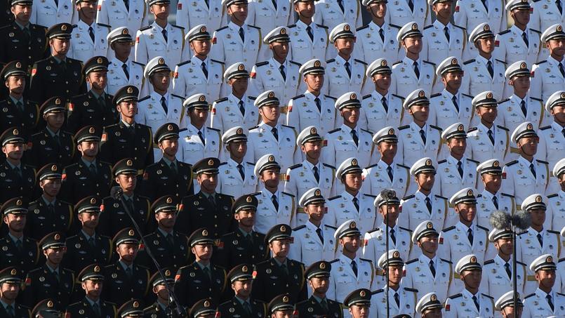 L'Armée populaire de libération est aujourd'hui estimée à 2,3 millions d'hommes.