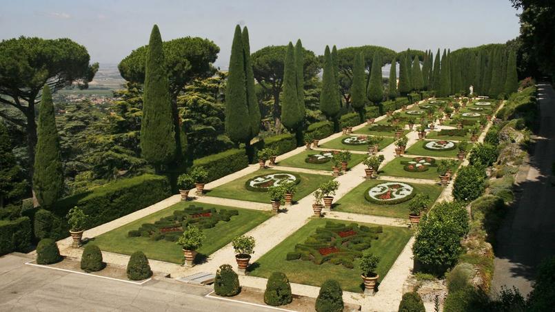 Castel gandolfo les jardins et le train du pape ouverts for Jardin italien