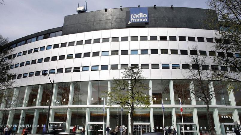 La maison de la radio, à Paris, en avril 2015.