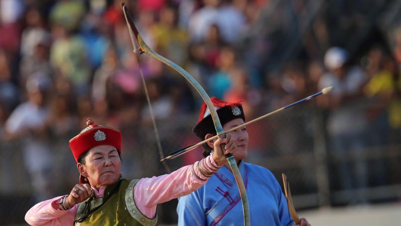 C'est au tour d'une femme venue de Mongolie de s'illustrer dans cette même discipline.