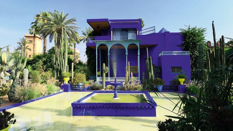 Un tour du monde des plus beaux jardins for Jardin majorelle 2015