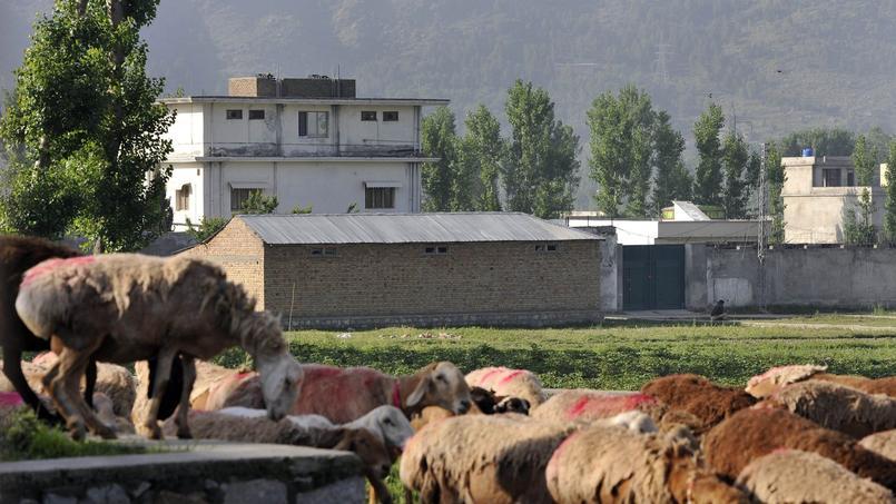 Maison dans laquelle Oussama Ben Laden a été tué le 2 mai par les forces spéciales américaines au Pakistan.