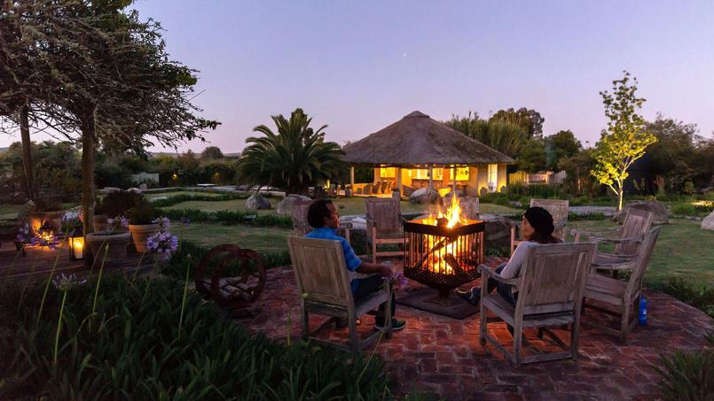 Dans le village de pueblo Garzon, l'hotel Casa Anna, offre un repos absolu, seulement troublé par le chant des oiseaux et le vent dans les arbres.