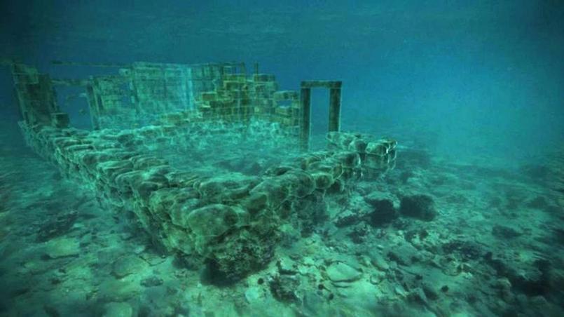 Pavlopetri se situe à environ quatre mètres de profondeur à l'extrême sud-est du Péloponnèse.