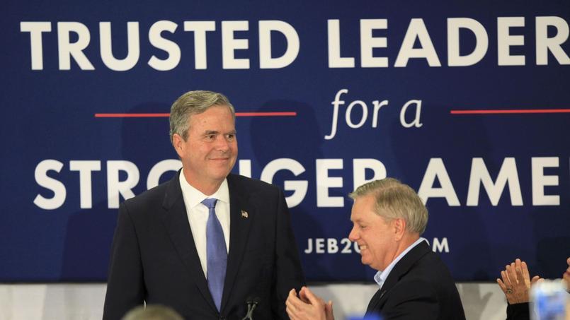 Dans les prochains jours, la dynamique devrait être d'autant plus favorable à Rubio qu'il devrait bénéficier d'une bonne partie des voix de l'électorat de Jeb Bush (photo).