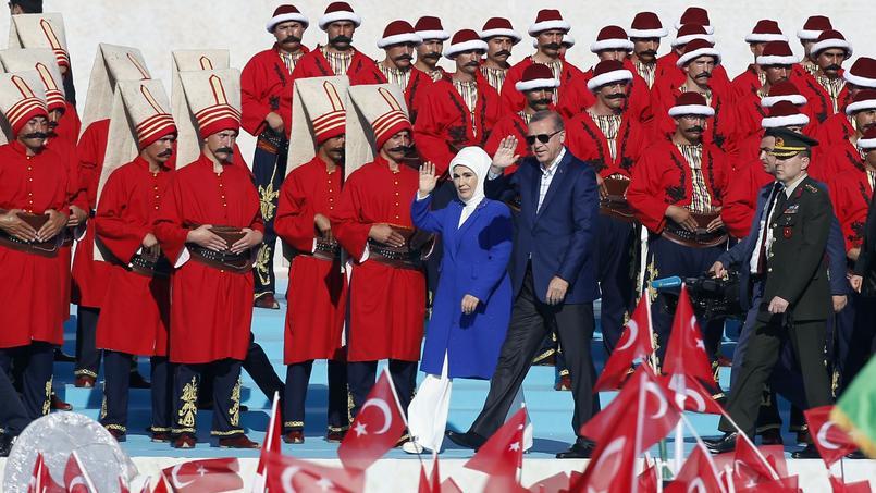 Erdogan et sa femme Emine.