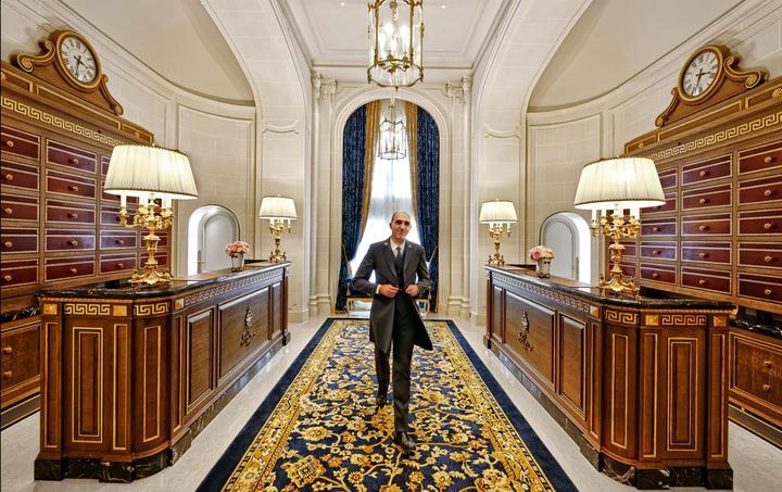 Chef de la conciergerie, Michel Buttino veille sur le nouvel espace qui lui dédié.