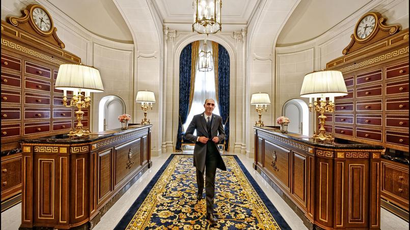 Chef de la conciergerie, Michel Buttino veille sur le nouvel espace qui lui est dédié.