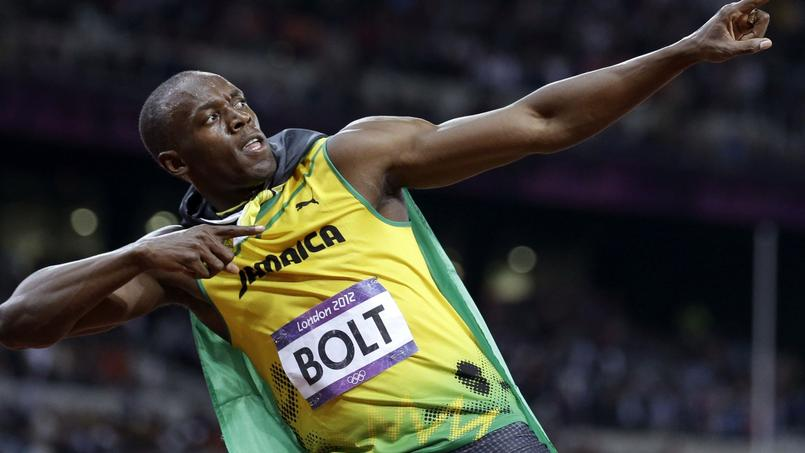 2012 à Londres. Le cinq août, Usain Bolt s